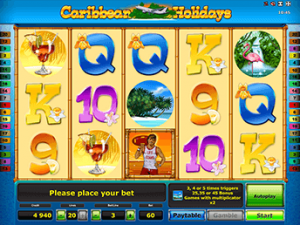 Азартная игра Caribbean Holidays