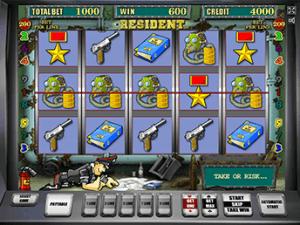 Азартная игра Resident