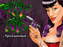 Онлайн игровой автомат Горячие Чернила